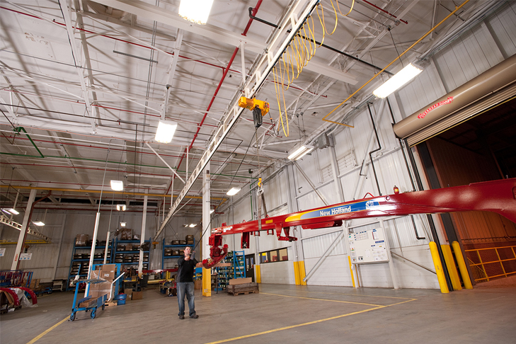 Ceiling-Mounted Monorail Cranes