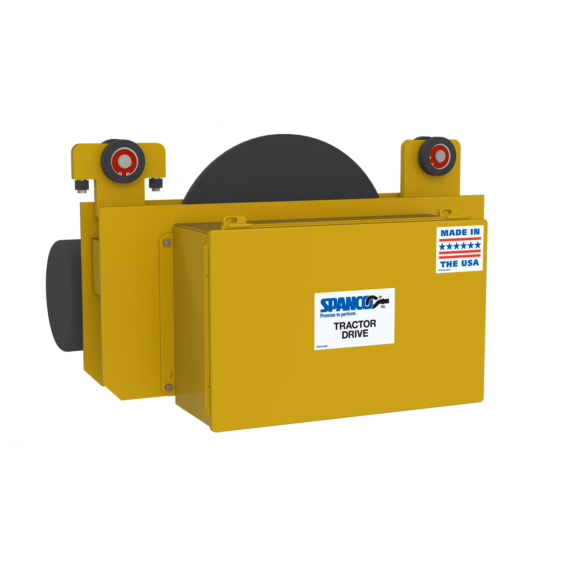 Enclosed Track Tractor Drive